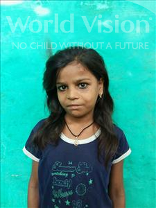 Choose a child to sponsor, like this little girl from Patna, Aradhana age 11