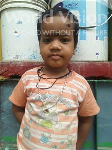 Choose a child to sponsor, like this little boy from Patna, Sagar age 3