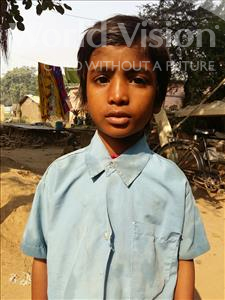 Choose a child to sponsor, like this little boy from Patna, Vishwas age 8