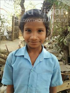 Choose a child to sponsor, like this little girl from Patna, Jyoti age 10