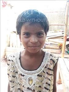 Choose a child to sponsor, like this little girl from Patna, Puja age 6