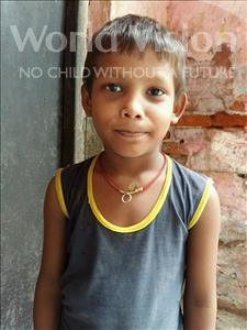Choose a child to sponsor, like this little boy from Patna, Mohit age 6