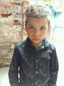Choose a child to sponsor, like this little boy from Patna, Sahil age 5