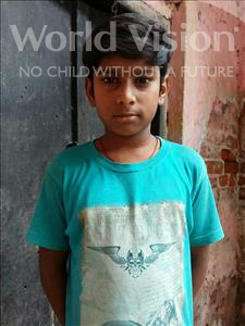 Choose a child to sponsor, like this little boy from Patna, Prince age 11