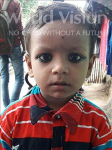 Choose a child to sponsor, like this little boy from Patna, Rohit age 3
