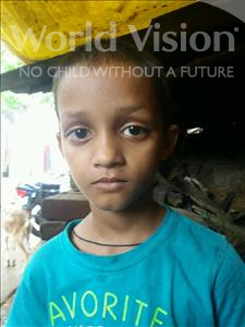 Choose a child to sponsor, like this little boy from Patna, Farhan age 5