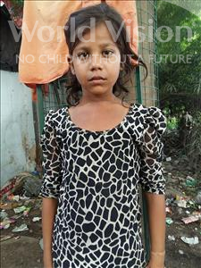 Choose a child to sponsor, like this little girl from Patna, Rupa age 6