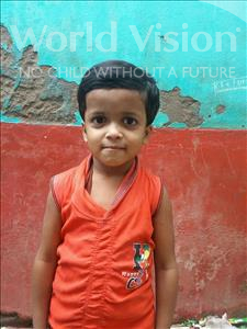 Choose a child to sponsor, like this little girl from Patna, Soni age 6