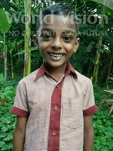 Choose a child to sponsor, like this little boy from Vaishali, Prawin age 8
