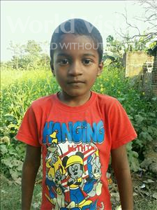 Choose a child to sponsor, like this little boy from Vaishali, Srikant age 8