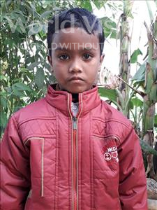 Choose a child to sponsor, like this little boy from Vaishali, Ayush Raj age 8