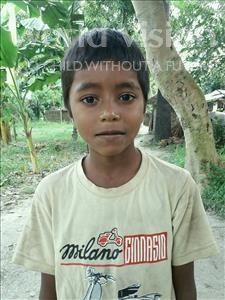 Choose a child to sponsor, like this little boy from Vaishali, Ayush age 9