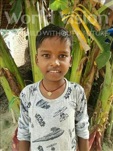 Choose a child to sponsor, like this little boy from Vaishali, Adarsh age 8