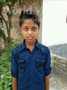 Choose a child to sponsor, like this little boy from Vaishali, Suraj age 9