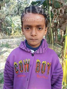 Choose a child to sponsor, like this little boy from Vaishali, Golu age 9