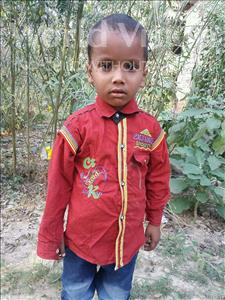 Satyam, aged 5, from India, is hoping for a World Vision sponsor