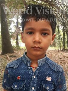 Choose a child to sponsor, like this little boy from Vaishali, Yas Raj age 6