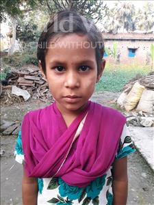 Choose a child to sponsor, like this little girl from Vaishali, Sitara age 9