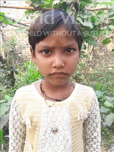 Choose a child to sponsor, like this little girl from Vaishali, Priya age 8
