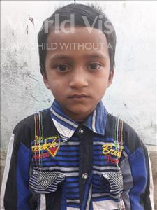 Choose a child to sponsor, like this little boy from Vaishali, Ankush age 6
