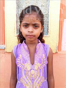 Choose a child to sponsor, like this little girl from Vaishali, Rani age 9