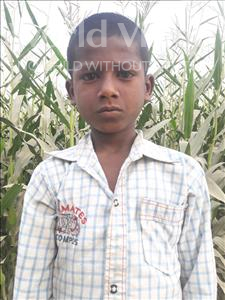 Choose a child to sponsor, like this little boy from Vaishali, Ranjan age 8
