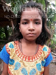 Choose a child to sponsor, like this little girl from Vaishali, Anchal age 7