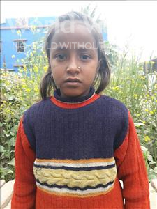 Choose a child to sponsor, like this little boy from Vaishali, Preeti age 12