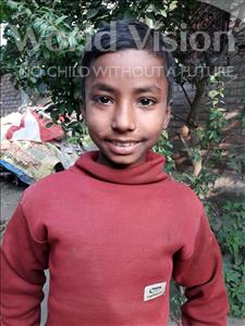 Choose a child to sponsor, like this little boy from Vaishali, Amit age 10