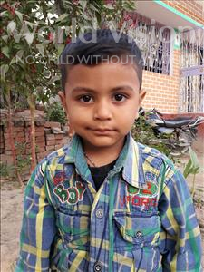 Choose a child to sponsor, like this little boy from Vaishali, Manohar age 4