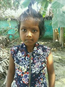 Choose a child to sponsor, like this little girl from Vaishali, Shristi age 5