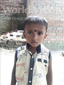 Choose a child to sponsor, like this little boy from Vaishali, Piyush age 2