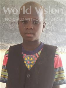 Choose a child to sponsor, like this little boy from Sirba, Nazifou age 8