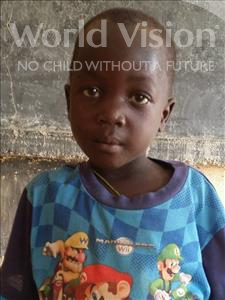 Choose a child to sponsor, like this little boy from Sirba, Hassane age 6