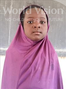Choose a child to sponsor, like this little girl from Sirba, Nadia age 9