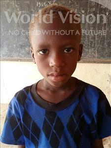 Choose a child to sponsor, like this little boy from Sirba, Abdourahaman age 9
