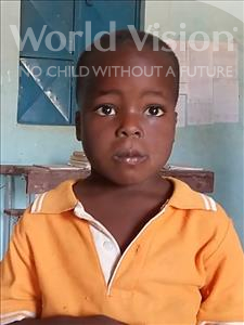 Choose a child to sponsor, like this little boy from Sirba, Hassime age 5
