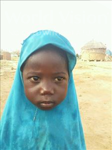Karima, aged 3, from Niger, is hoping for a World Vision sponsor