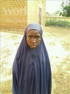 Choose a child to sponsor, like this little girl from Komabangou, Farida age 12