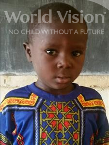 Choose a child to sponsor, like this little boy from Komabangou, Abdoulaziz age 7