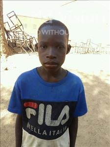 Choose a child to sponsor, like this little boy from Komabangou, Abdoulhayou age 13
