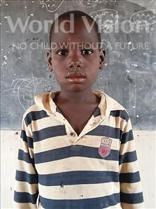 Choose a child to sponsor, like this little boy from Komabangou, Ali age 8