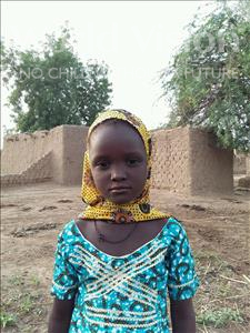 Choose a child to sponsor, like this little girl from Komabangou, Fayza age 6