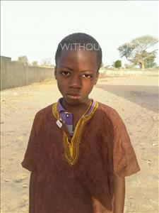 Choose a child to sponsor, like this little boy from Mbella, Mamadou age 10