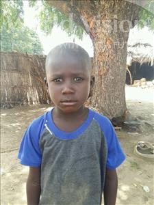 Choose a child to sponsor, like this little boy from Mbella, Modou age 7