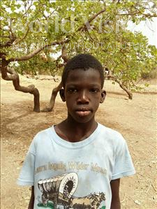 Choose a child to sponsor, like this little boy from Mbella, Babacar age 11