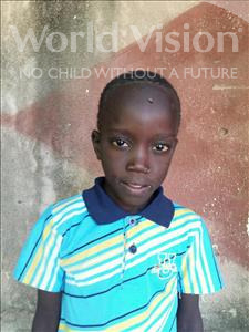 Choose a child to sponsor, like this little boy from Mbella, Modi Diome age 8
