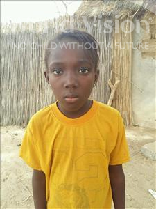 Choose a child to sponsor, like this little girl from Mbella, Gnilane age 9