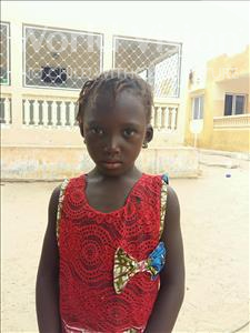 Choose a child to sponsor, like this little girl from Mbella, Marie age 6