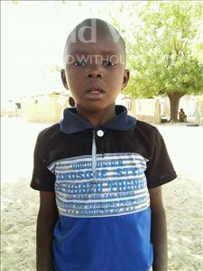 Babacar, aged 6, from Senegal, is hoping for a World Vision sponsor